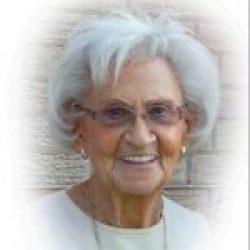 Mme Yolande Ostiguy-Lamoureux 1933-2019